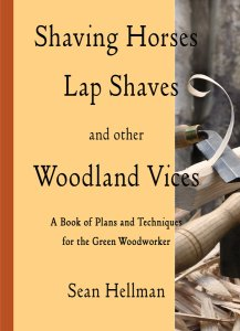 Shaving horses lap shaves and other woodland vices